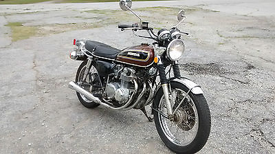 Honda : CB 1976 honda cb 550 low miles w title nice shape runs perfect full tune up