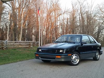 Shelby : Shelby CSX Shelby Black and silver 1987 Dodge Shelby CSX turbo 5 speed numbered car and signed