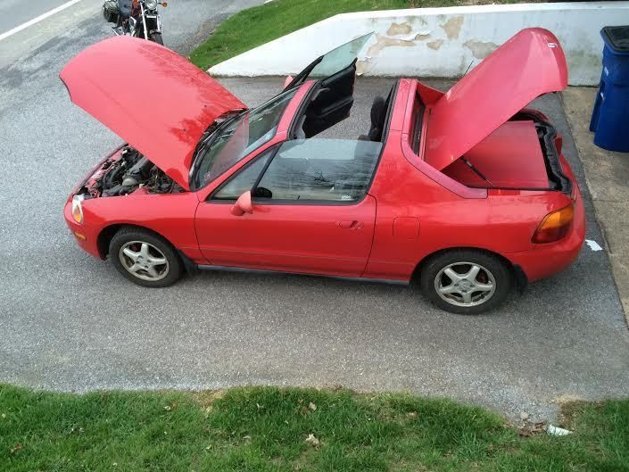1996 Honda Civic Del Sol Si