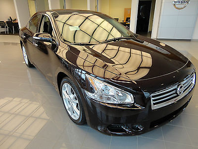 Nissan : Maxima New 2014 Nissan Maxima SV V6 Heated Power Seats  New 2014 Nissan Maxima SV V6 Heated Power Seats Sunroof Leather Crimson Black