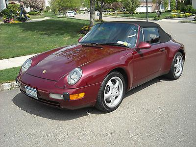 Porsche : 911 Carrera 2 Cabriolet 1998 porsche 911 carrera cabriolet 28 k miles