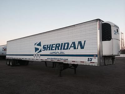 2007 REEFER UTILITY TRAILER WITH THERMO KING SB210 UNIT