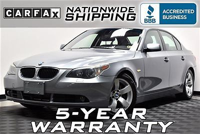 BMW : 5-Series 525i Loaded 78k Miles Nationwide Shipping 5 Year Warranty Leather Sunroof Must See