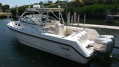 2002 Boston Whaler Conquest 295 in a time capsule