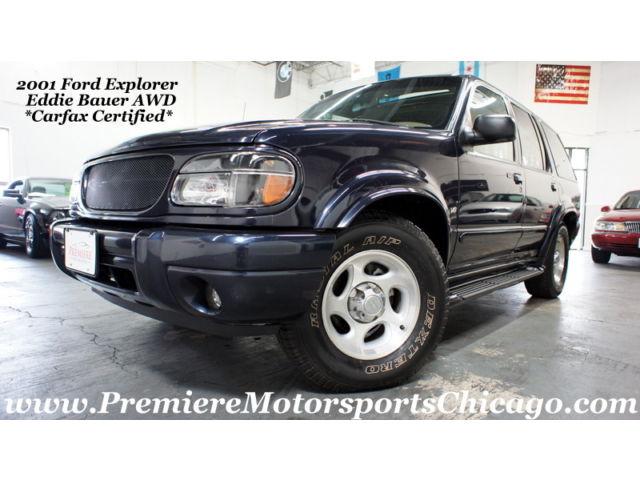 Ford : Explorer Eddie Bauer *Carfax Certified* V8 5.0L Eddie Bauer AWD 107K Loaded!
