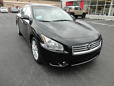 Nissan : Maxima New 2014 Nissan Maxima SV V6 Heated Power Seats  New 2014 Nissan Maxima SV V6 Heated Power Seats Sunroof Leather Super Black
