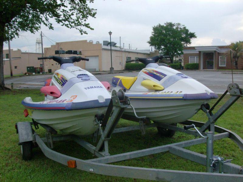 1996 and 1995 Yamaha Wave Raiders