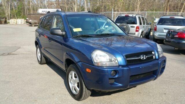 2007 Hyundai Tucson Sport Utility Gls Cars for sale