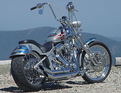 American Classic Motors 2009 american beauty gothardt designed chopper low miles springer