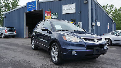 Acura : RDX Technology Package 2007 acura rdx suv 4 cylinder turbo charged technology package clean carfax awd