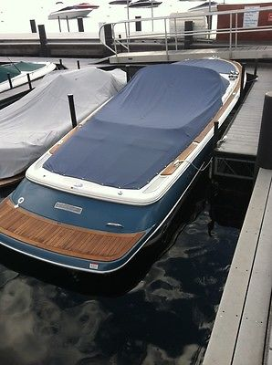 2007 Chris Craft Launch 25 Heritage Volvo 380HP Fresh Tahoe Only All Records