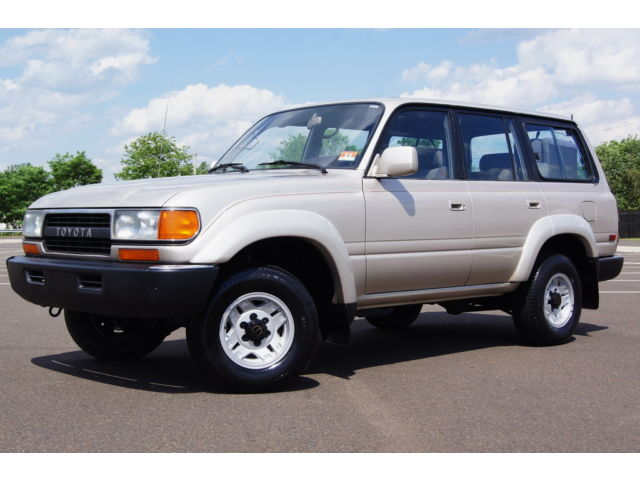 Toyota : Land Cruiser 4dr Wagon 4 x 4 suv 3 rd row seat runs drives great extra clean