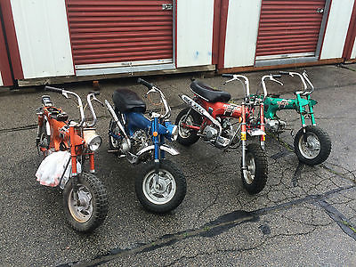 Honda : CT 4 lot honda ct 70 ct 70 h trail 4 speed vintage mini bike motorcyce will ship