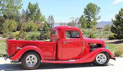 Ford : Other Pickups Classic 1935 ford street rod pick up collector car classic