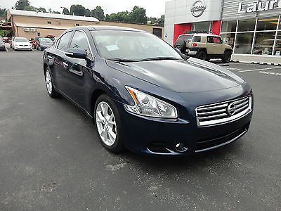 Nissan : Maxima New 2014 Nissan Maxima SV Navigation Heated Seats New 2014 Nissan Maxima SV V6 Navigation Heated Seats Sunroof Leather Navy Blue