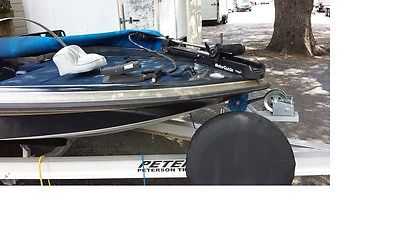 1997 Astro Bass Boat with 150 hp Mercury outboard and new aluminum trailer