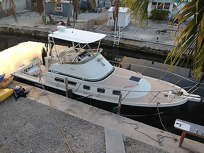 2000 34ft Albin Command bridge with NEW Yanmar 350hp Offshore Fishing Boat