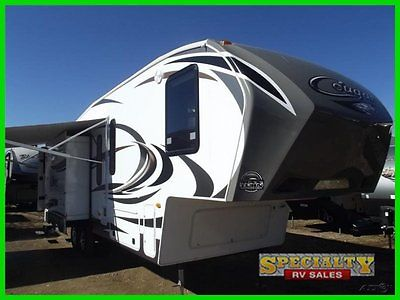 2013 Keystone Cougar Fifth Wheel 280RLS  Used Kitchen Island Recliner Chairs