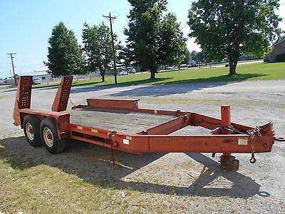 Belshe T-1 2-Axle Pintle Hitch Utility/Equipment Trailer in Missouri