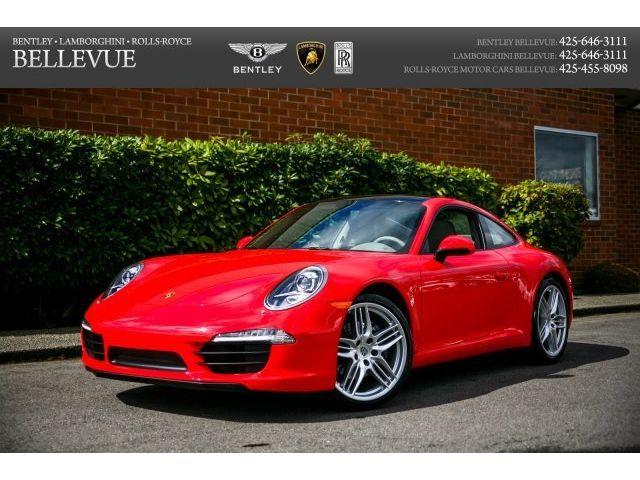 Porsche : 911 Carrera 7 speed manual gearbox premium entry drive sport chrono bose 5.1 20 whls