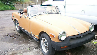 MG : Midget convertible coupe 1976 mg midget convertible