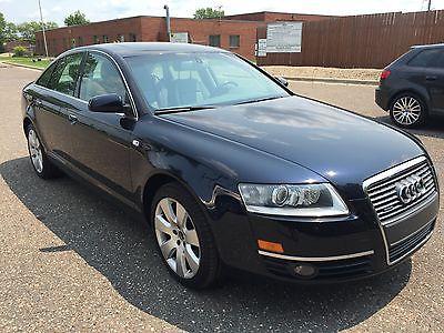 Audi : A6 A6 Navy Blue 2008 Audi A6, 4.2 L V8
