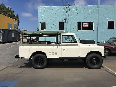 Land Rover : Defender 1980 australian land rover series iii 109