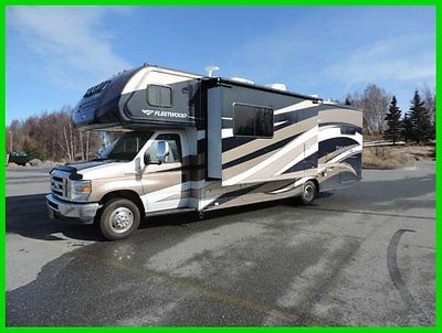 2013 Fleetwood Tioga 31' Class C WARRANTY V10 Gas 2 SlideOuts Sleeps 10 ALASKA