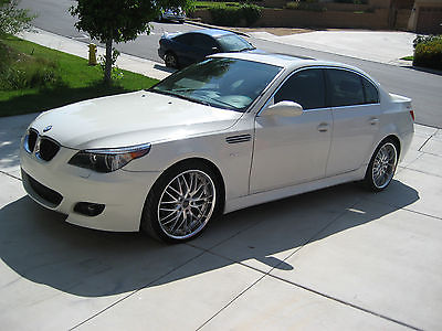 BMW : 5-Series 525i 2004 bmw m 5 clone show car new paint oem m 5 bumpers 3 piece racing rims must see