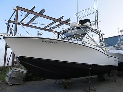 1997 Carolina Classic 28 fishing boat Project Low Reserve Full Tower Generator !