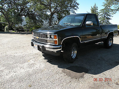 1988 chevy 1500 4x4 cars for sale. Black Bedroom Furniture Sets. Home Design Ideas