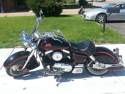 Kawasaki : Vulcan Kawasaki Vulcan Drifter 1500 Batcycle