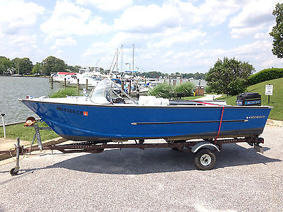 Starcraft Jupiter 16' blue fully restored '67 vintage classic boat
