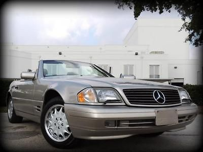 Mercedes-Benz : SL-Class SL500 Roadster FLORIDA, CARFAX CERTIFIED, NEW MERCEDES TRADE, EXCELLENT CONDITION