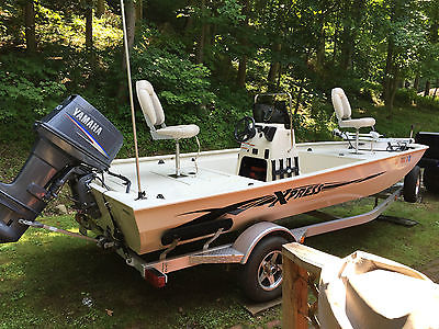 2010 Xpress XP18CC, aluminum fishing boat, yamaha 90 hp 2 stroke, BT 19' trailer