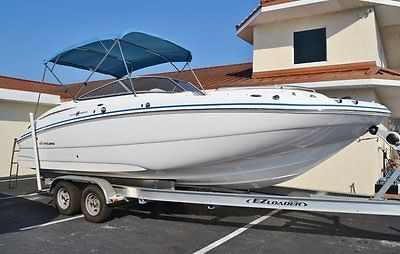 CLEARANCE SALE! 2014 Hurricane SunDeck SD 2400 OB with Yamaha Power