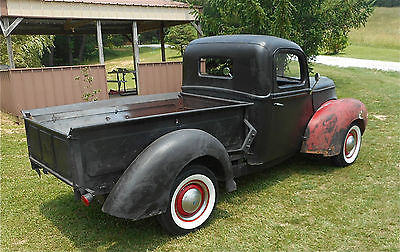 Ford : Other Pickups Jalopy 1940 ford 1 2 ton pick up truck traditional hot rod with patina not a rat rod