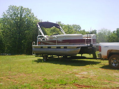 2012 SunTracker PartyBarge 22'DLX