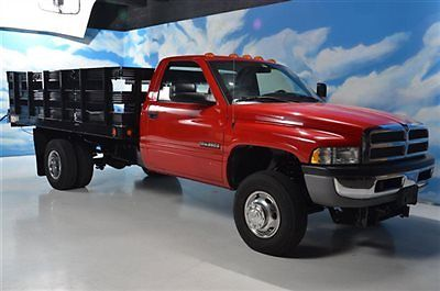 Dodge : Ram 3500 5.9 CUMMINS-13FT STAKE BED- 5.9 cummins 13 ft stake bed tommy lift super low miles rare truck do not miss