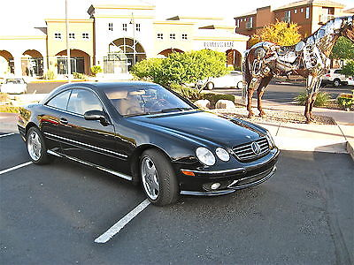 Mercedes-Benz : CL-Class Base Coupe 2-Door 2001 mecedes benz model cl 55 amg