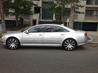 Audi : A8 L 2004 audi a 8 l clean title low mileage adult driven