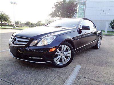 Mercedes-Benz : E-Class 2dr Cabriolet E350 RWD BENZ E350, LTH HTD STS, AM/FM/CD, PWR CONVERTIBLE TOP, NAV, WOOD GRAIN!!