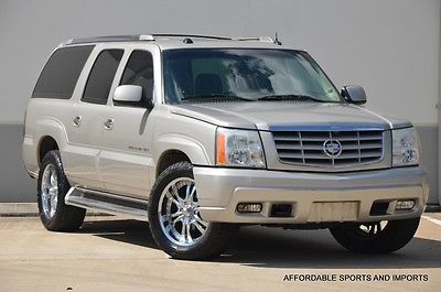 Cadillac : Escalade Base Sport Utility 4-Door 2004 escalade esv awd navi s roof r enter lth htd seats 3 rd row 699 ship