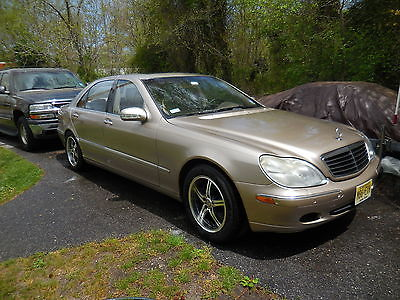Mercedes-Benz : S-Class S430 2001 mercedes benz s 430 4.3 l