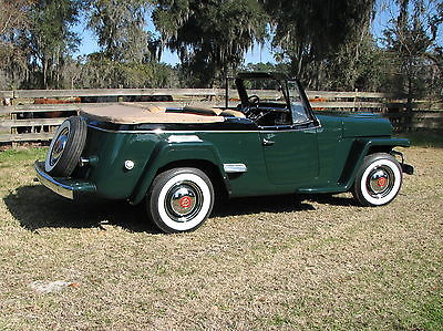 Willys Jeepster phaeton convertible motorcycles for sale