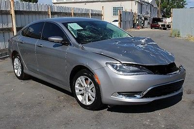 Chrysler : 200 Series LIMITED 2015 chrysler 200 limited repairable salvage wrecked damaged project save fixer