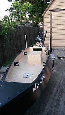 2013 Gheenoe custom boat, trailer & Yamaha 9.9 4 stroke