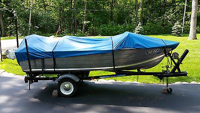 14 ft starcraft aluminum boat/35 hp johnson