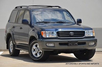 Toyota : Land Cruiser Base Sport Utility 4-Door 1999 toyota land cruiser 4 x 4 lth htd seats s roof clean 599 ship