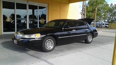 Lincoln Town Car Cartier Sedan 4 Door L Cars For Sale